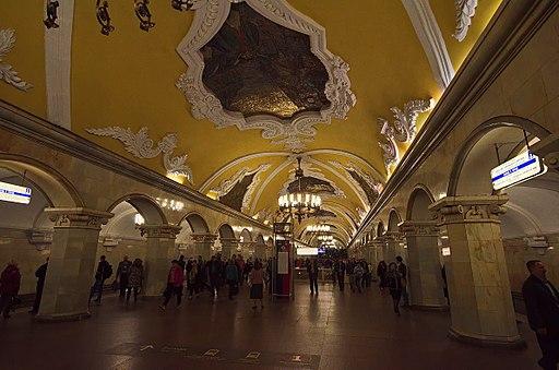 0006 - Moskau 2015 - Metrostation Komsomolskaja (26124685700)