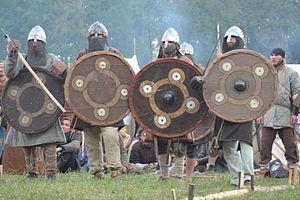 02015 Wikinger Reenactment-Gruppen des 10.Jahrhunderts -Trzcinica 009.jpg