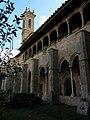 040 Sant Jeroni de la Murtra, galeria sud del claustre i campanar.JPG