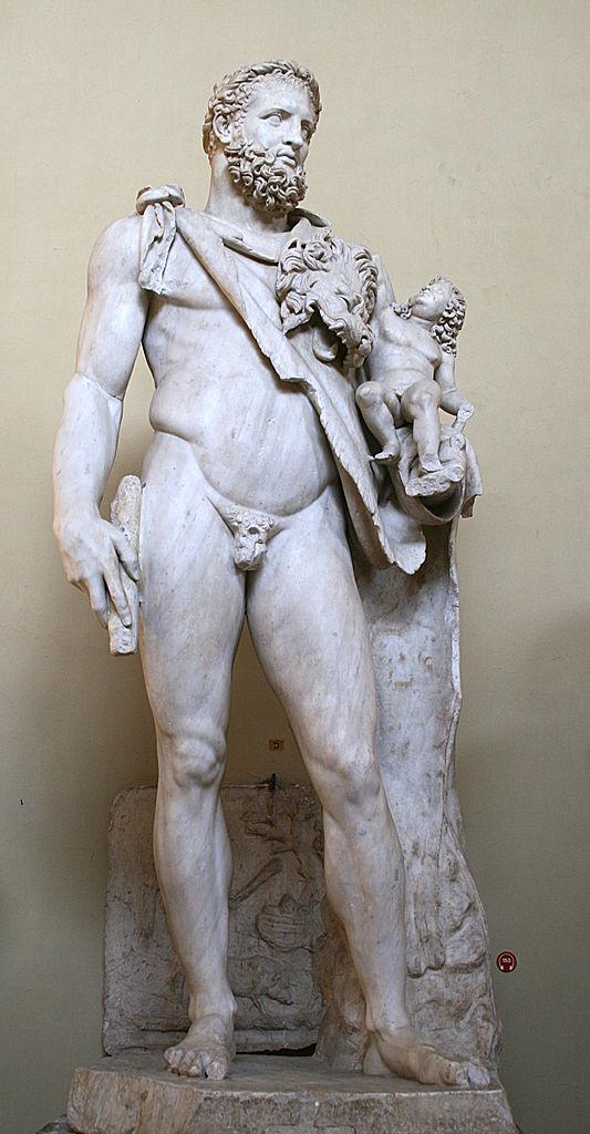 Héracles e Telephos - [ Museo Chiaramonti ] [ Vaticano ]
