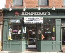 A Ben & Jerry's Shop