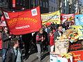 1. Mai 2013 in Hannover. Gute Arbeit. Sichere Rente. Soziales Europa. Umzug vom Freizeitheim Linden zum Klagesmarkt. Menschen und Aktivitäten (090).jpg