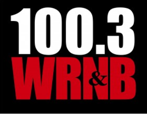 "WRNB - Logo as ""100.3 WRNB"" from 2011-2013"