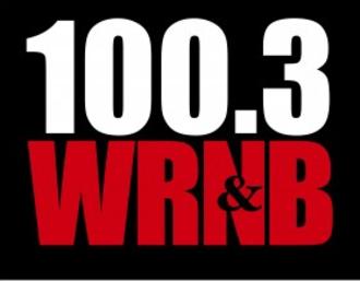 """WRNB - Logo as """"100.3 WRNB"""" from 2011-2013"""