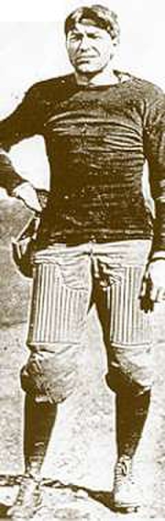 William Henry Dietz - Dietz, as a member of the Carlisle football team between 1909 and 1912