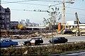 110L05221083 Wagramerstrasse – Cernetzplatz, Blick Richtung Endstelle der U Bahn Linie U1 , Baubeginn für diverse Amtsgebäude.jpg