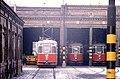 111R36091283 Remise Erdberg, Strassenbahn Linie J, Typ L 560, Typ L 569, Typ L 561.jpg