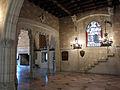 113 Castell de Santa Florentina (Canet de Mar), menjador reial.JPG