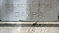 118 Tomba de Frederic Carreras de Campa, detall.jpg