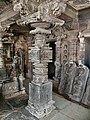 11th century Panchalingeshwara temples group, Kalyani Chalukya, Sedam Karnataka India - 8.jpg