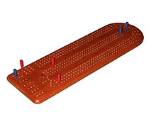 photo regarding Printable Cribbage Board named cribbage board - Wiktionary