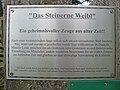 12523 Flurendenkmal Steinerne Weibl - plaque.jpg