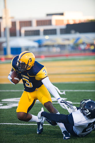Ricky Collins - Collins (3) in action against East Texas Baptist in 2014.