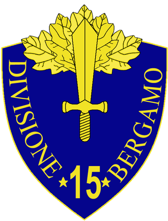 15th Infantry Division Bergamo - 15th Infantry Division Bergamo Insignia