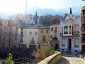 164 Carrer de Julià Fuchs (Monistrol de Montserrat), a la dreta Cal Roig.JPG