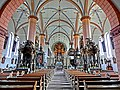 """1691 erfolgte nach 21-jähriger Bauzeit die Einweihung der dreischiffigen Hallenkirche """"St. Hadrian und St. Dionysius"""". Die Kirche wurde im Baustil der westfälischen Nachgotik errichtet. Sie war zu dem Zeitpunkt eine - panoramio.jpg"""