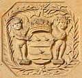 1700 circa Isaac Anton de Sansdouville Dupuis de Sacetôt, Wappen an der Neustädter Hof- und Stadtkirche St. Johannis, Hannover.jpg