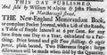1765 WilliamMAlpine JohnFleming BostonEveningPost March11.png