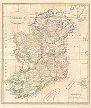 File:1799 Clement Cruttwell Map of IrelandGeographicus . clement cruttwell map of ireland geographicus ireland cruttwell