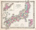 1855 Colton Map of Japan - Geographicus - Japan-colton-1855.jpg