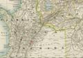 1871 Bogota detail map Mittel-America und Westindien by Dietrich Reimer BPL 12500.png
