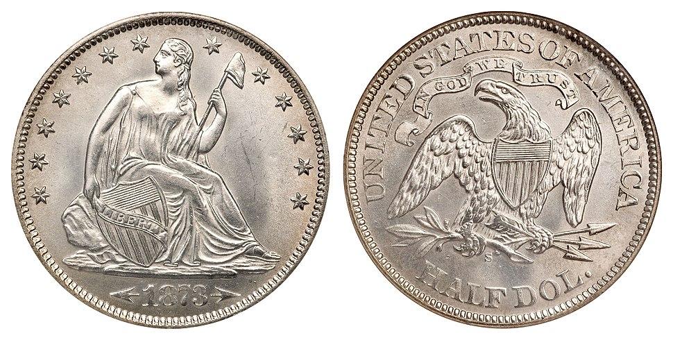 1873-S 50C Arrows