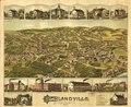 1887 bird's eye view map of Highlandville, Massachusetts LOC 74693296.tif