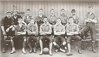 1894–95 Burslem Port Vale F.C. season - The Burslem Port Vale team in 1894.