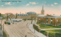 1910s postcard of Harvard Square.png
