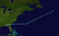 1911 Atlantic tropical storm 1 track.png