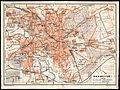 1911 circa Stadtplan Hannover, Geographische Anstalt von Wagner & Debes, Leipzig, 01 mit Straßenbahn und Feldbahnen.jpg