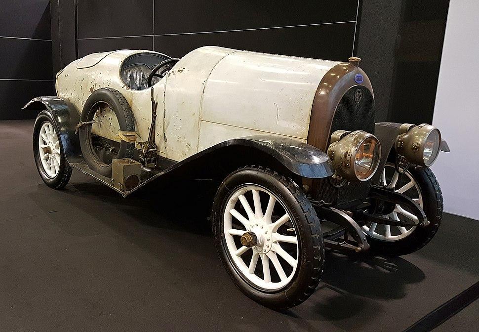 1913 Fiat Chiribiri, 2016 Bologna Motor Show