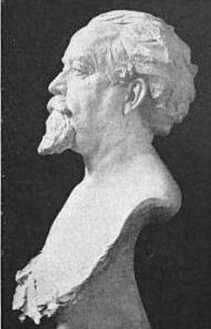 Carl Busch -  Jorgen Dreyer's bust of Carl Busch