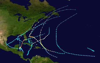 1924 Atlantic hurricane season hurricane season in the Atlantic Ocean