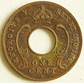 1924 East African 1 cent coin obverse.jpg