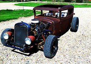Rat rod - 1930 Ford Model A rat rod