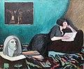 1931 Istomin Lesende Frau anagoria.JPG