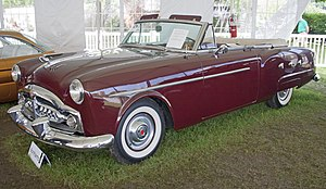 Packard 200 - 1952 Packard 250 convertible
