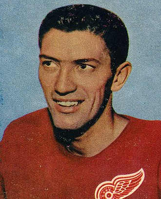 Al Arbour - Arbour during his time with the Detroit Red Wings in 1957
