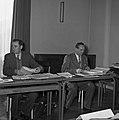 1958 visite d'une délégation INRA au Haras du Pin Cliché Jean Joseph Weber-13-1.jpg