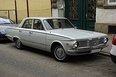 Plymouth valiant wikiwand 1964 plymouth valiant v 200 4 door sedan fandeluxe