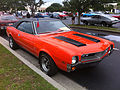 1969 AMC Javelin with Mod hood scoops at 2014-AMO-NC meet 2of4.jpg