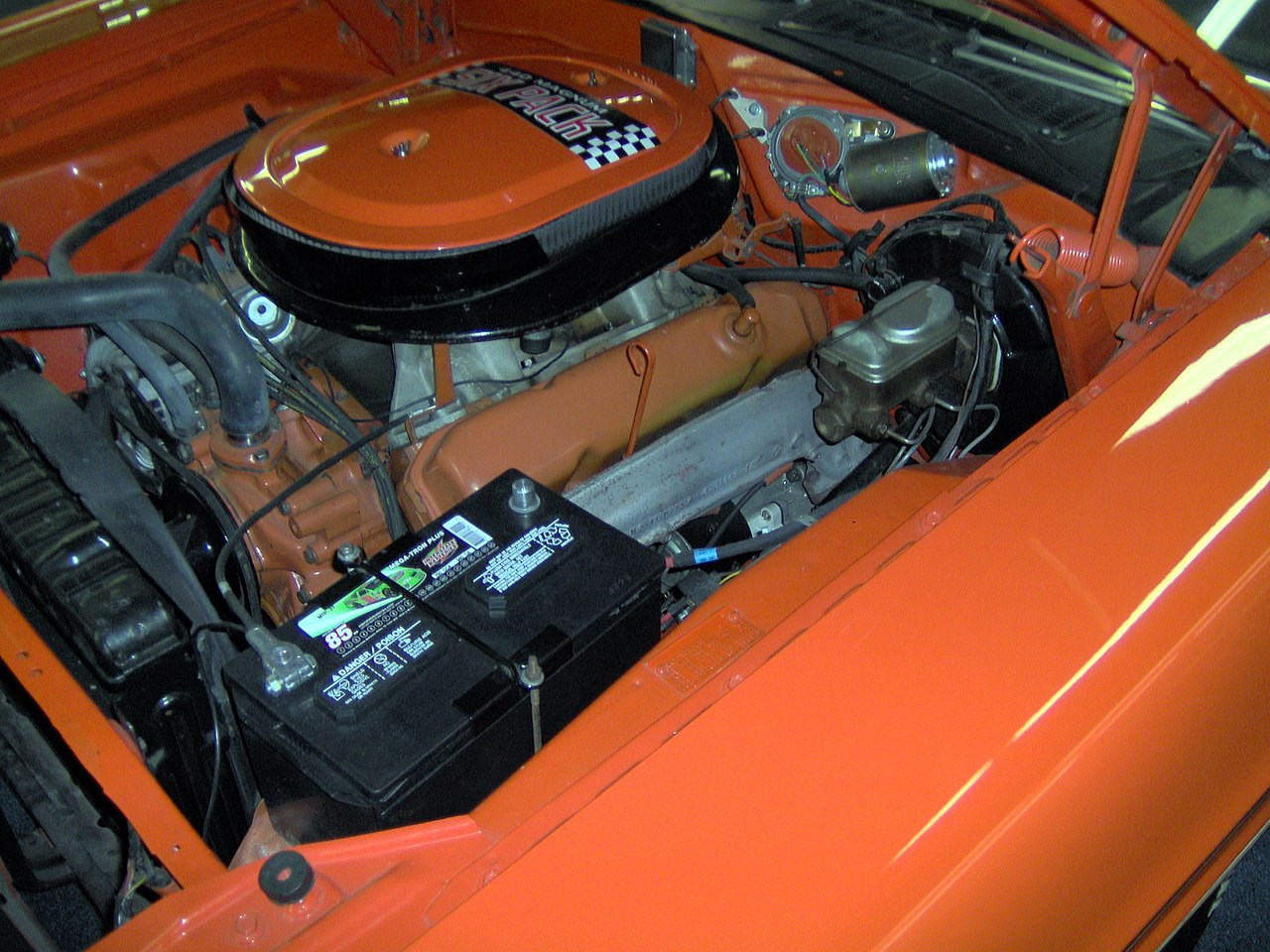 file:1970 dodge challenger rt 440 six-pack engine jpg