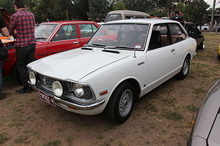 1973 Corolla KE25 Coupe, TOYOTA COROLLA INTERNATIONAL SALES LEADER