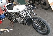 De John Player Norton racer uit 1974