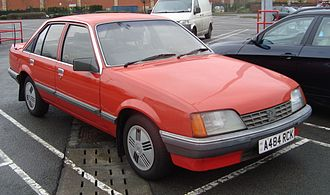 Vauxhall Carlton - Post-facelift Vauxhall Carlton Mark I saloon
