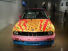 1989 M3 Group A Art Car by Ken Done front.jpg