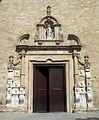 19 Santa Maria de Calella, retaule dels Apòstols, portal oest.JPG