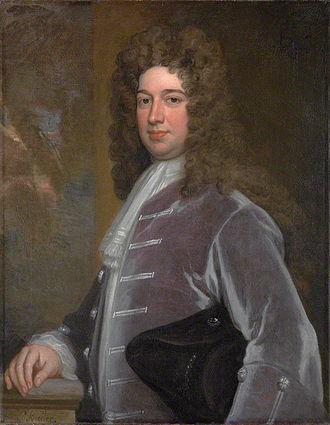 Duke of Kingston-upon-Hull - Evelyn Pierrepont, 1st Duke of Kingston-upon-Hull (1665–1726), by Sir Godfrey Kneller, Bt, 1709.