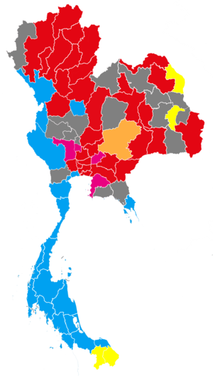 2001 Thai General Election Map By Constituency.png